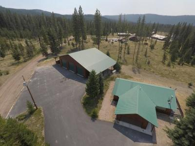 Seeley Lake MT Single Family Home Under Contract Taking Back-Up : $299,000
