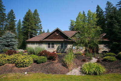 Columbia Falls Single Family Home For Sale: 119 Wood Ridge Drive