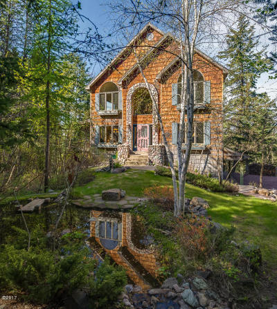 Whitefish Single Family Home For Sale: 32 Nelsoncrest Place