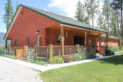 Thompson Falls Single Family Home For Sale: 233 Cherry Creek Road