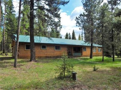 Seeley Lake MT Single Family Home For Sale: $269,000