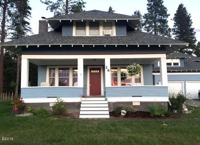 Columbia Falls Single Family Home For Sale: 26 Queens Way