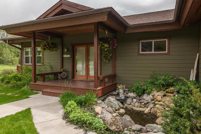 Whitefish Single Family Home Under Contract Taking Back-Up : 64 Antique Ridge Lane