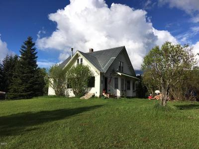 Trout Creek Single Family Home Under Contract Taking Back-Up : 75 3 Corners Road South