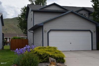 Lolo Single Family Home For Sale: 230 Lakeside Drive