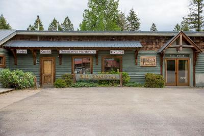 Whitefish Commercial For Sale: 5805 Hwy 93 South
