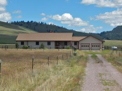 Seeley Lake MT Single Family Home For Sale: $398,500
