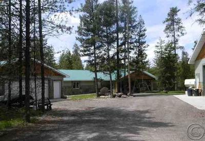 Seeley Lake Single Family Home For Sale: 122 Lemar Drive