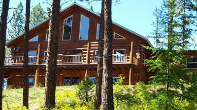 Alberton, Bonner, Clinton, Florence, Frenchtown, Greenough, Huson, Lolo, Missoula, Potomac Single Family Home For Sale: 255 Hunter Ridge Trail