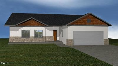 Mineral County Single Family Home For Sale: Lot 1 Clubhouse Drive