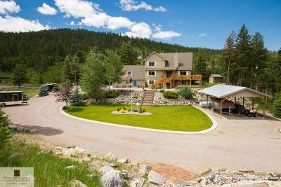 Kalispell Single Family Home Under Contract Taking Back-Up : 1073 Shelter Ridge