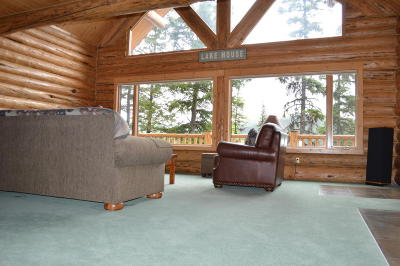 Kalispell Single Family Home For Sale: 4198 Ashley Lake Road