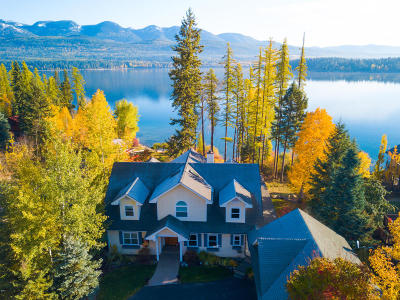 Whitefish Single Family Home Under Contract with Bump Claus: 1450 West Lakeshore Drive
