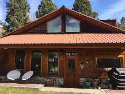 Hamilton Single Family Home For Sale: 912 Skalkaho Hwy
