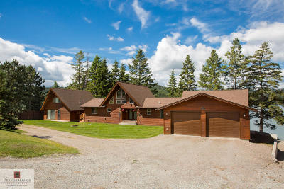 Kalispell Single Family Home Under Contract Taking Back-Up : 1677 Foys Lake Road