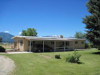 Ravalli County Single Family Home For Sale: 1147 Centennial Lane