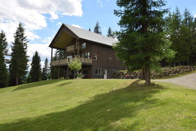 Lincoln County Single Family Home For Sale: 1254 Salish Springs Road