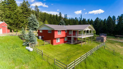 Flathead County Single Family Home For Sale: 734 K M Ranch Road