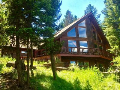 Seeley Lake Single Family Home For Sale: 1555 Double Arrow Road