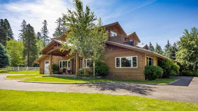 Whitefish Single Family Home For Sale: 1563 East Edgewood Drive