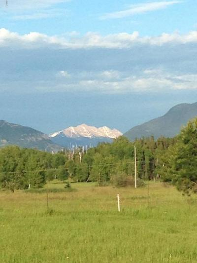 Whitefish Residential Lots & Land Under Contract Taking Back-Up : Nhn Lot 14 Cottonwood Court