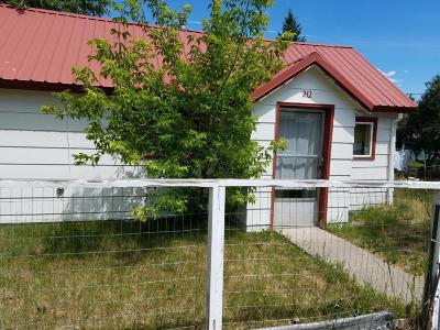 Sanders County Single Family Home For Sale: 212 2nd Avenue South
