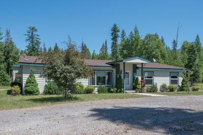 Bigfork Single Family Home Under Contract Taking Back-Up : 12524 Sunburst Drive