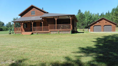 Lincoln County Single Family Home For Sale: 4361 Lake Creek Road