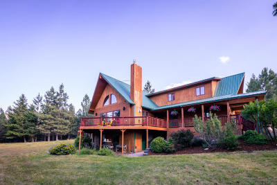 Lolo Single Family Home For Sale: 9280 Mormon Creek Road