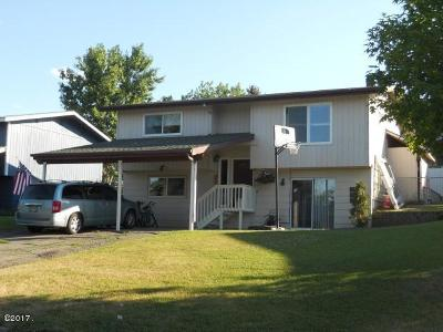 Kalispell MT Single Family Home Under Contract Taking Back-Up : $219,000