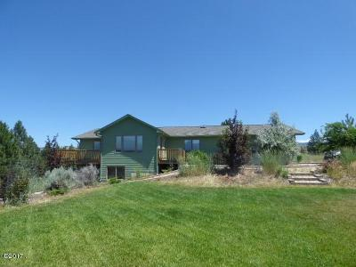 Florence MT Single Family Home Under Contract Taking Back-Up : $382,600