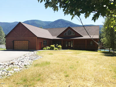 Thompson Falls Single Family Home For Sale: 25 West Steamboat Way
