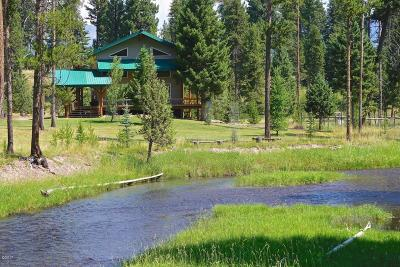 Seeley Lake Single Family Home For Sale: 242 Wagon Wheel Court