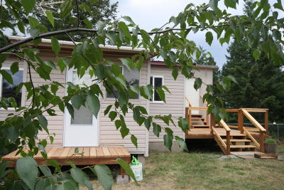 Columbia Falls Single Family Home Under Contract Taking Back-Up : 270 Steeles Drive