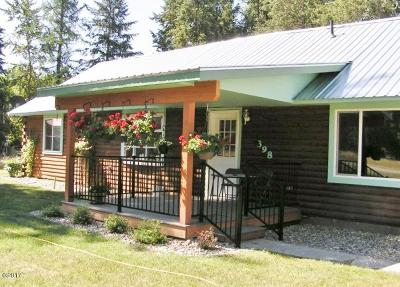 Libby MT Single Family Home For Sale: $224,900
