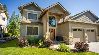 Whitefish Single Family Home Under Contract Taking Back-Up : 1128 Meadowlark Lane