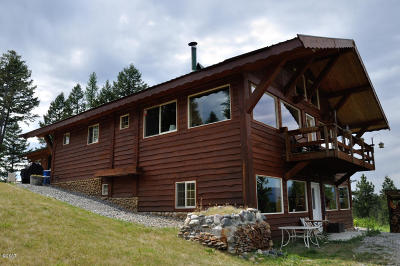 Lincoln County Single Family Home For Sale: 12466 Us Highway 93 South