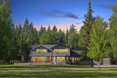 Bigfork Single Family Home For Sale: 990 Swan Horseshoe Drive