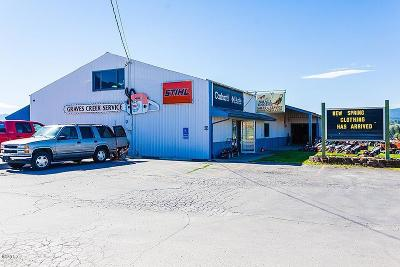 Lincoln County Commercial For Sale: 1426 Us-93