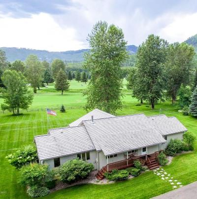 West Glacier MT Single Family Home For Sale: $449,000