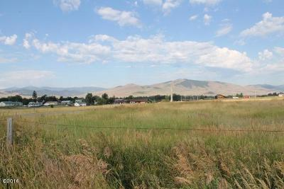 Saint Ignatius MT Residential Lots & Land For Sale: $61,950