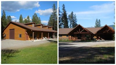 Lincoln County Single Family Home For Sale: 2707 Kootenai River Road