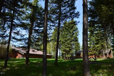 Whitefish Single Family Home Under Contract Taking Back-Up : 750 Beaver Lake Road
