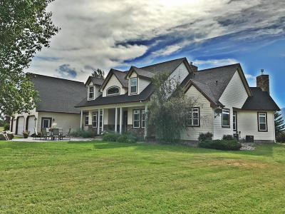 Stevensville Single Family Home For Sale: 849 Middle Burnt Fork Road