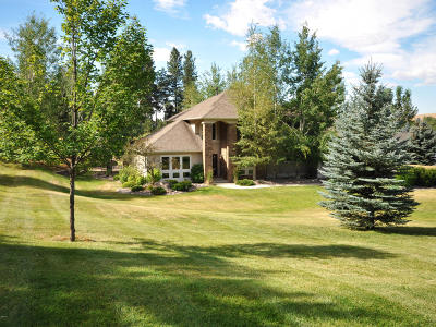 Missoula Single Family Home Under Contract Taking Back-Up : 875 Mellot Lane