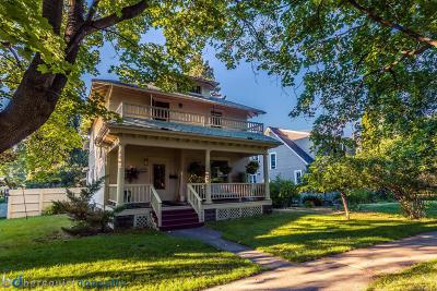 Missoula Single Family Home For Sale: 432 Eddy Avenue