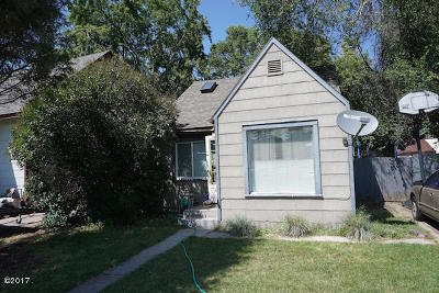 Missoula Single Family Home For Sale: 1718 South 5th Street West