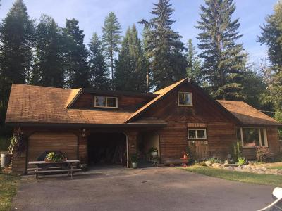Whitefish Single Family Home For Sale: 2085 Us-93