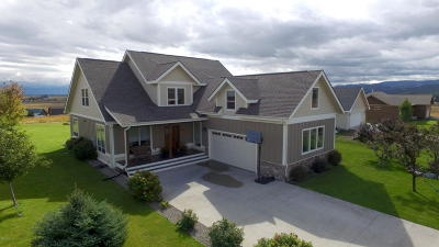 Kalispell Single Family Home Under Contract Taking Back-Up : 125 Schlegel View Road