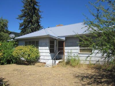 Lincoln County Single Family Home For Sale: 505 Missoula Avenue